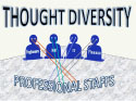 Thought Diversity � Professional Staffs ~ 15 MIN